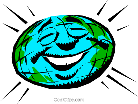 Mother earth Royalty Free Vector Clip Art illustration envi0075