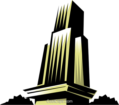 Tower Royalty Free Vector Clip Art illustration arch0232
