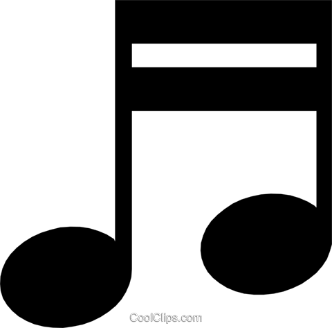 Musical notes Royalty Free Vector Clip Art illustration arts0136