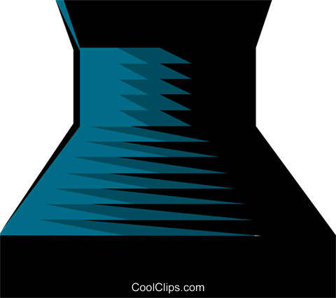 Nuclear reactor symbol Royalty Free Vector Clip Art illustration envi0087