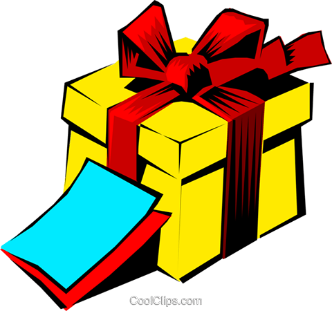 Gift Royalty Free Vector Clip Art illustration even0202