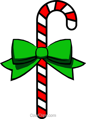 Candy canes Royalty Free Vector Clip Art illustration even0207