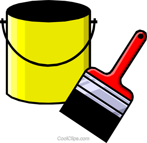 paint can Royalty Free Vector Clip Art illustration indu0177