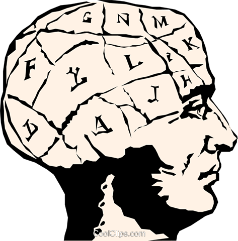 Human brain Royalty Free Vector Clip Art illustration medi0012