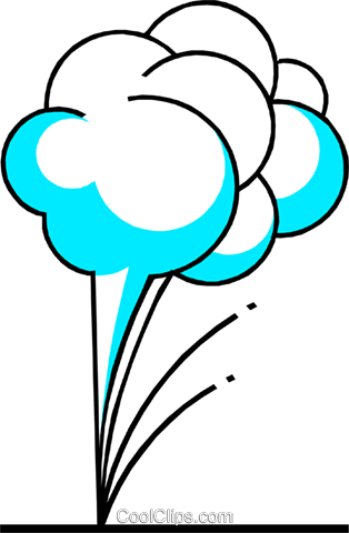Weather clouds Royalty Free Vector Clip Art illustration natu0220