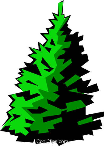 Trees Royalty Free Vector Clip Art illustration natu0224