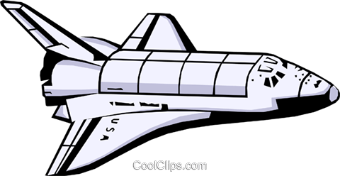 space shuttle royalty free vector clip art illustration busi0405 rh search coolclips com space shuttle clip art free columbia space shuttle clipart