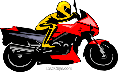 Motorcycle Royalty Free Vector Clip Art illustration peop1256