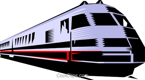 Train Royalty Free Vector Clip Art illustration tran0125