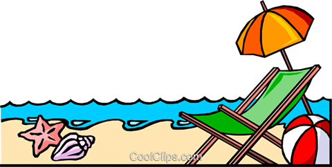 Beach background Royalty Free Vector Clip Art illustration even0246