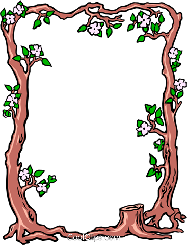 Tree trunk background Royalty Free Vector Clip Art illustration even0248