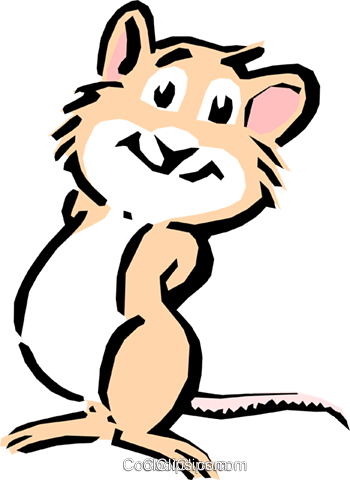 Cartoon chipmunk Royalty Free Vector Clip Art illustration anim0594