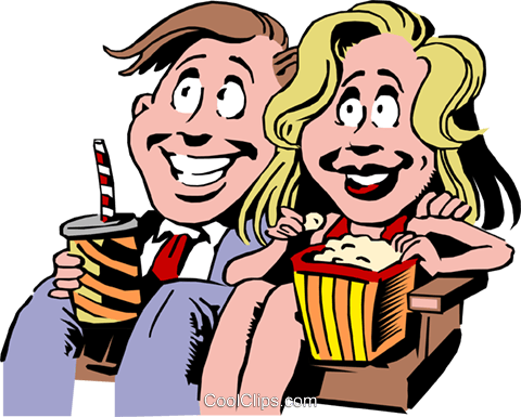 Cartoon date Royalty Free Vector Clip Art illustration cart0696