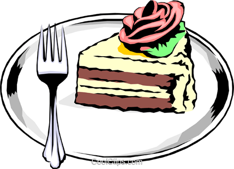 Cake Royalty Free Vector Clip Art illustration food0178