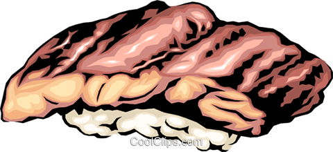 Sushi Royalty Free Vector Clip Art illustration food0217