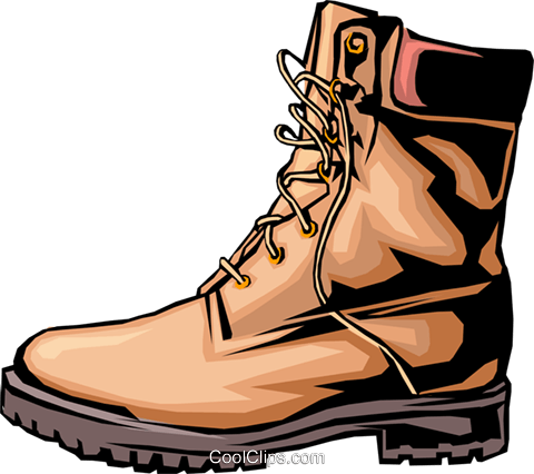 Boot Royalty Free Vector Clip Art illustration hous0397