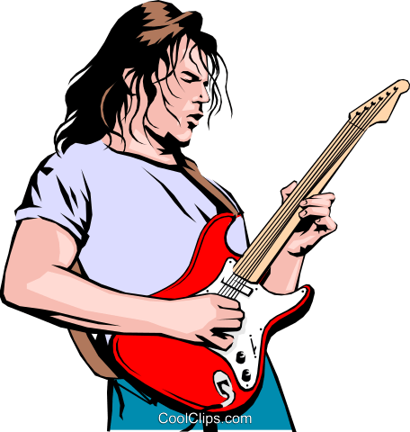 Guitar Player Vecteurs de stock et clip-Art vectoriel peop0719