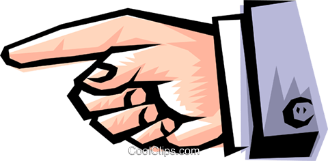 Cool hands Royalty Free Vector Clip Art illustration hand0172