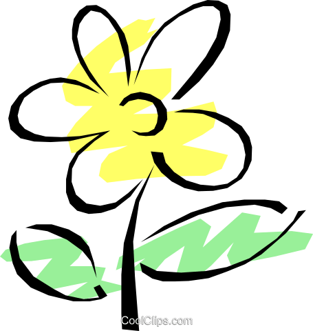 Flowers Royalty Free Vector Clip Art illustration natu0167