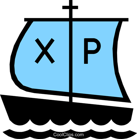 Symbol of boat Royalty Free Vector Clip Art illustration reli0063