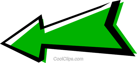 Cool arrows Royalty Free Vector Clip Art illustration text0585
