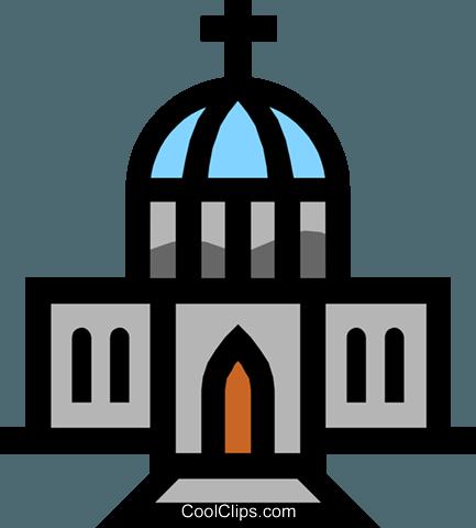 Symbol Of A Church Royalty Free Vector Clip Art Illustration