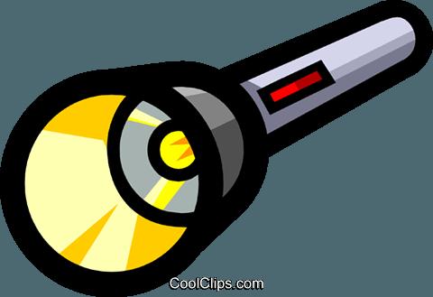Taschenlampe clipart  Symbol einer Taschenlampe Vektor Clipart Bild -indu0429-CoolCLIPS.com