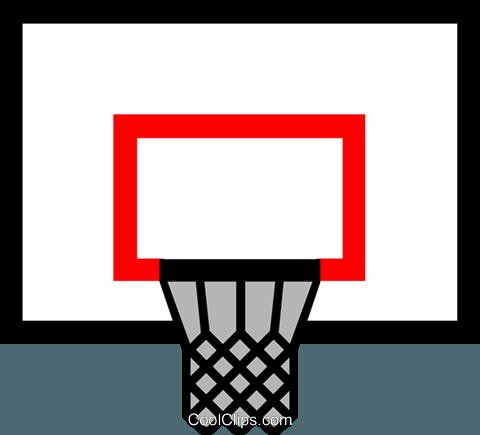 Symbol Of A Basketball Net Royalty Free Vector Clip Art Illustration