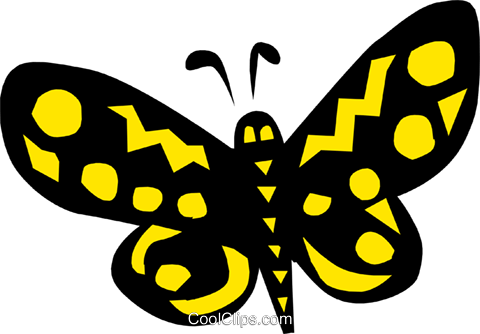 butterfly, Cool butterfly Royalty Free Vector Clip Art illustration anim0645