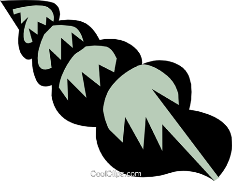 Mollusk Royalty Free Vector Clip Art illustration anim0669
