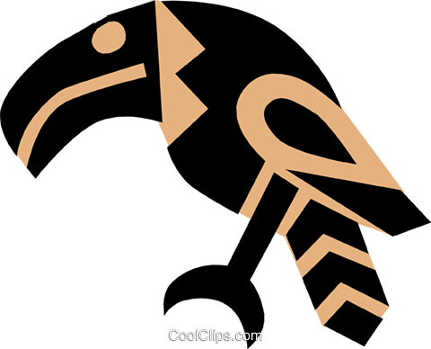 Egyptian hieroglyphic symbols Royalty Free Vector Clip Art illustration anim0671