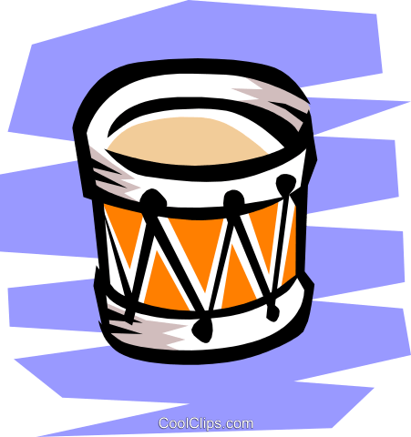 Drum Royalty Free Vector Clip Art illustration arts0040