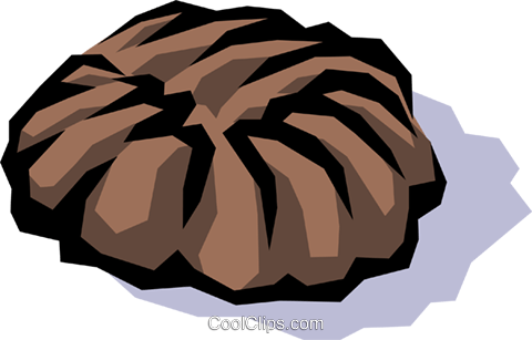 Chocolate Royalty Free Vector Clip Art illustration food0265