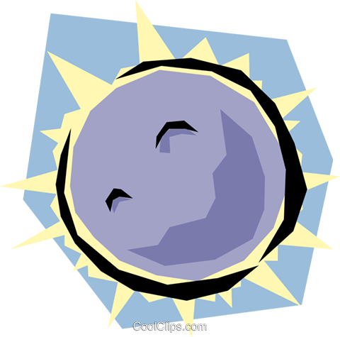 Moon Royalty Free Vector Clip Art illustration natu0146