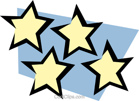Stars Royalty Free Vector Clip Art illustration natu0151