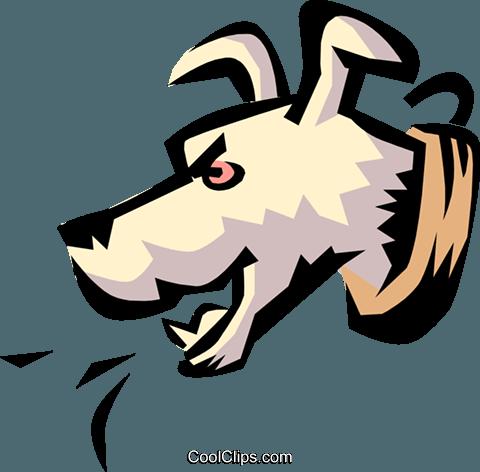 dog barking royalty free vector clip art illustration anim0779 rh search coolclips com free barking dog clipart black dog barking clipart