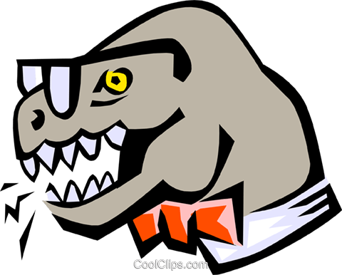 Dinosaur Royalty Free Vector Clip Art illustration anim0782