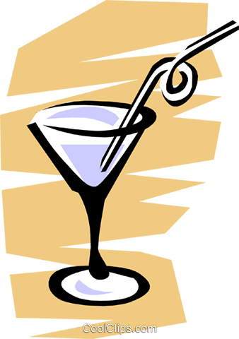 Martini Royalty Free Vector Clip Art illustration food0241