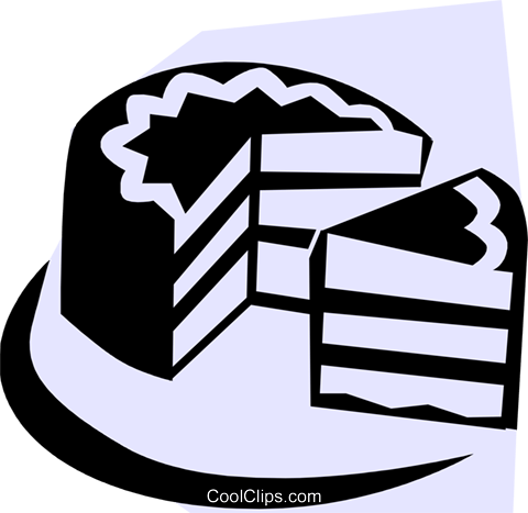 Cake Royalty Free Vector Clip Art illustration food0449