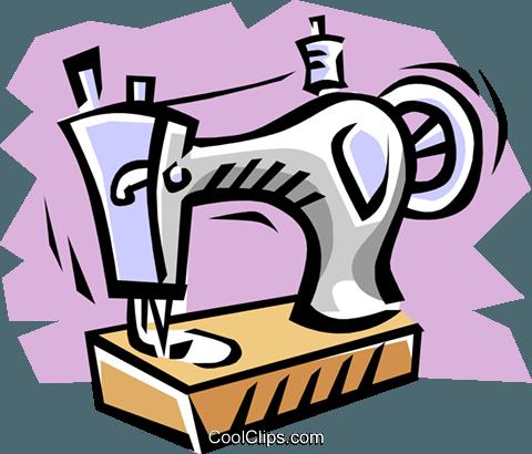 Maquinas De Costura Livre De Direitos Vetores Clip Art Ilustracao