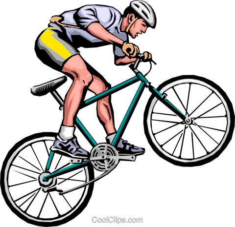 man on mountain bike royalty free vector clip art illustration rh search coolclips com clipart mountain bike rider clipart mountain bike rider