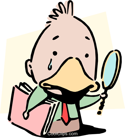 Ugly duckling Royalty Free Vector Clip Art illustration cart0905