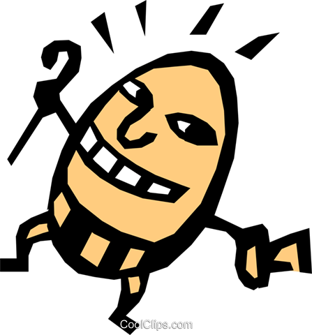Humpty Dumpty Royalty Free Vector Clip Art illustration even0316
