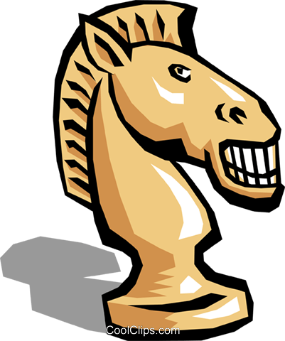 Chess piece Royalty Free Vector Clip Art illustration hous0477