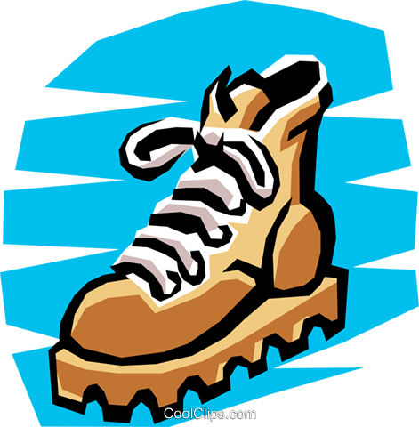 Boot Royalty Free Vector Clip Art illustration hous0478
