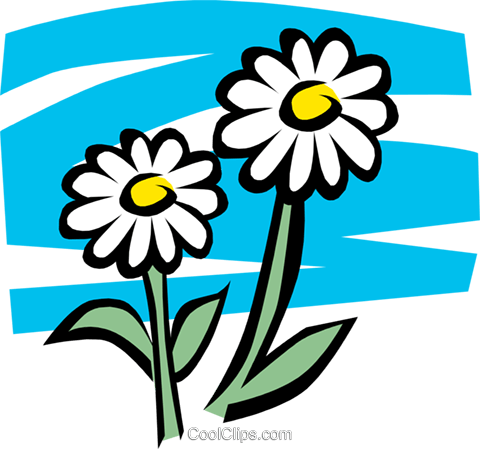 Flowers Royalty Free Vector Clip Art illustration natu0073