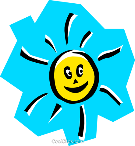 Sun Royalty Free Vector Clip Art illustration natu0296