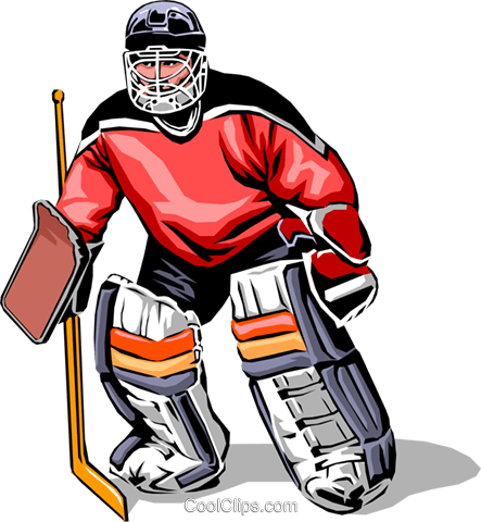 hockey goalie royalty free vector clip art illustration peop0028 rh search coolclips com ice hockey goalie clipart hockey goalie mask clipart