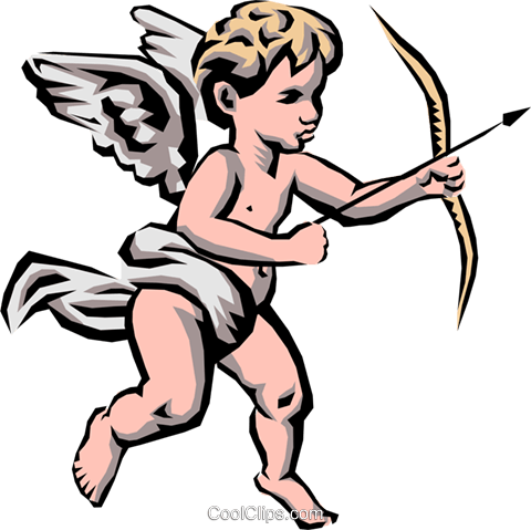 Angel Royalty Free Vector Clip Art illustration reli0010