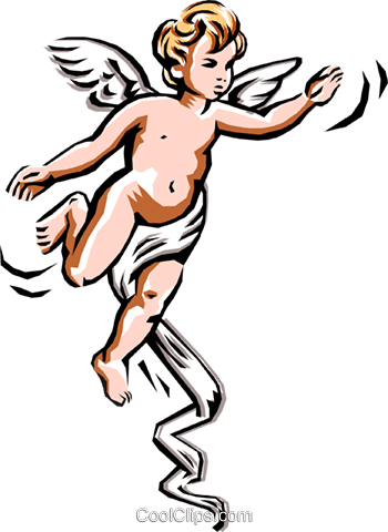 Angel Royalty Free Vector Clip Art illustration reli0011